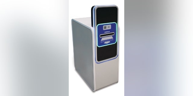 Irving ATM prototype (Diebold).
