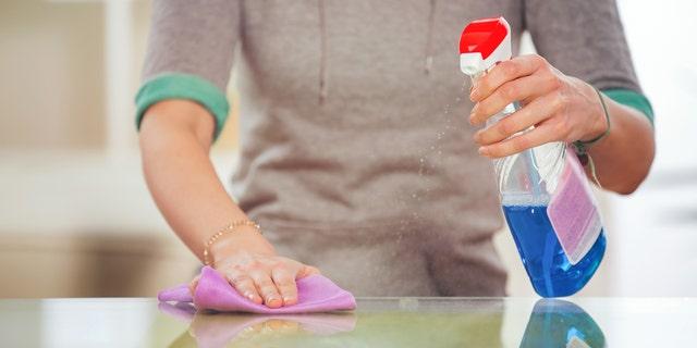 The study found that those who lived in households where disinfectants were used weekly had a higher risk of being overweight by age 3 than those who lived in houses where eco-friendly substances were used.