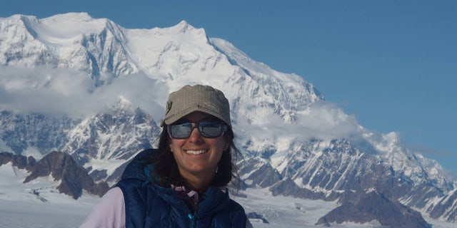 Martinez, 37, was stranded for almost five days high on Mount Logan after to two earthquake-triggered avalanches isolated her camp.