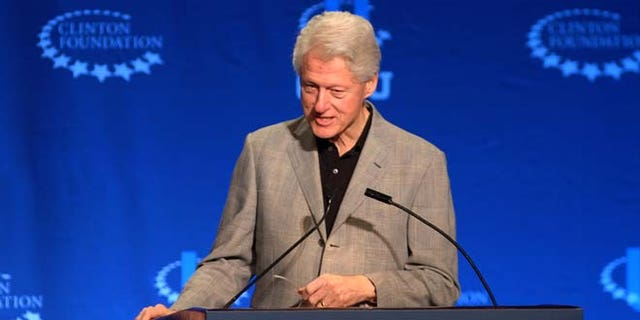 March 7, 2015: Former President Bill Clinton speaks at the Future of Energy session at a university conference sponsored by the Clinton Global Initiative in Coral Gables, Fla.