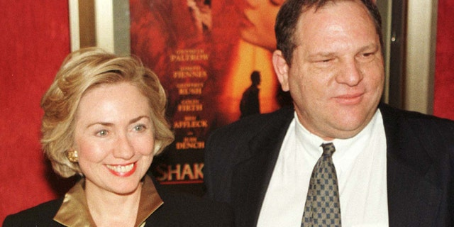 Harvey Weinstein has been a big financial backer of the Clintons for years.