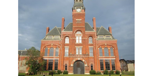 The Pullman Clock Tower building was refurbished by the state, but remains empty. (National Park Service)