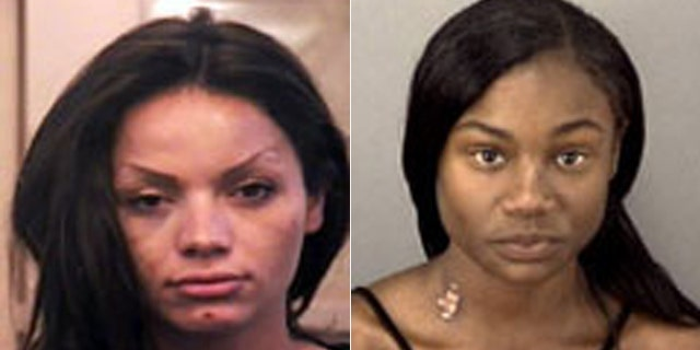 Virginia Cloven, left, and 15-year-old runaway Syllannia Edwards.