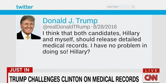 """CNN appeared to edit the word """"Crooked"""" from Donald Trump's tweet on Sunday."""