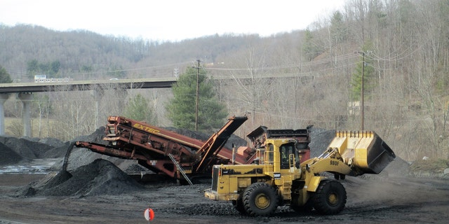 In Wise County, Virginia, coal trucks are running again.