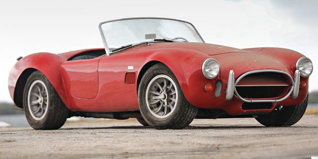 This 1967 Shelby 427 Cobra is equipped with a 428 engine for street use.