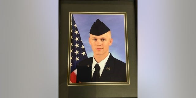 Cody Harter, a Missouri Air National Guard member, was stabbed to death Saturday night in an apparent road rage incident.