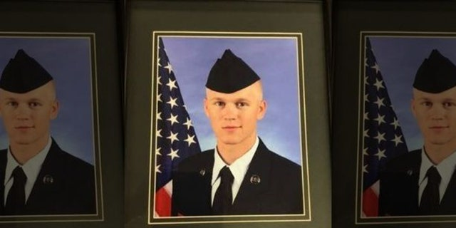 Proseutors said the stabbing death of Cody Harter, a Missouri Air National Guard member, during a road rage incident was senseless.