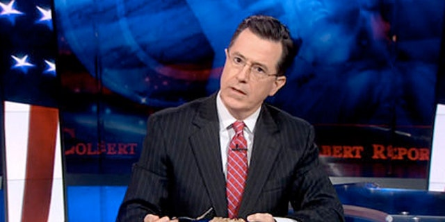 """Colbert called North Carolina barbecue  """"sauceless, vinegar-based meat product."""""""