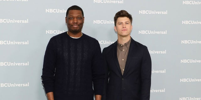 """Michael Che and his """"Weekend Update"""" co-anchor, Colin Jost, are Saturday Night Live staples."""