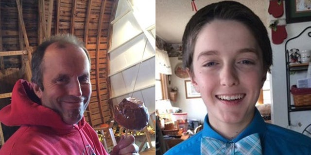 Daniel Briel and his 14-year-old son, David, were killed in a collapse in a silo on their Wisconsin farm.