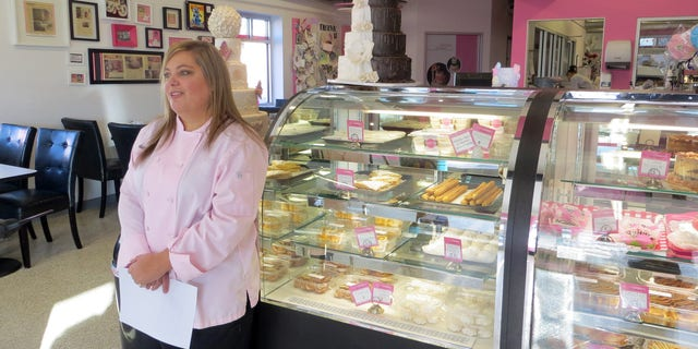 Jan. 20, 2015: Bakery owner Marjorie Silva stands for a photo inside her own Azucar Bakery, in Denver.