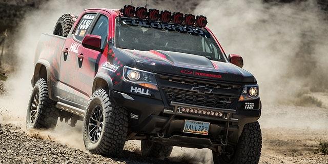 Hall Racing's Chevrolet Colorado ZR2