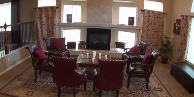 The home's main party room, according to the owner.