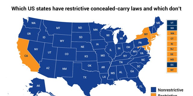 Gun Laws By State Map 2018.Concealed Carry Gun Permit Reciprocity Means Every State Would