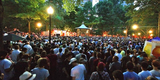 Visitors and residents alike make the most of the summer weather when they treat themselves to local music performances in picturesque Rittenhouse Square. Sponsored by Philadelphia Weekly, the free Wednesday night concerts are the perfect excuse for a picnic in the park with friends.