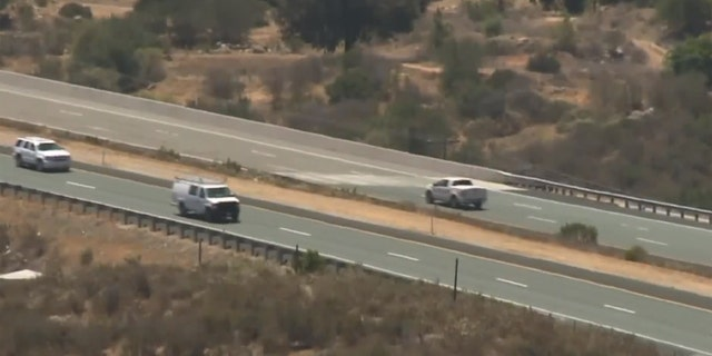 All five incidents have taken place along the same stretch of Interstate 8 about 30 miles east of San Diego.