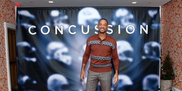 """Dec. 14, 2015 - Actor Will Smith at a media event for the film """"Concussion"""" in New York. (AP)"""