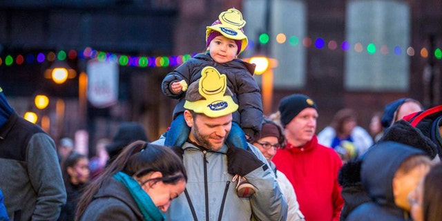 The annual Peep celebration kicks off at 10 a.m. on New Year's Eve.