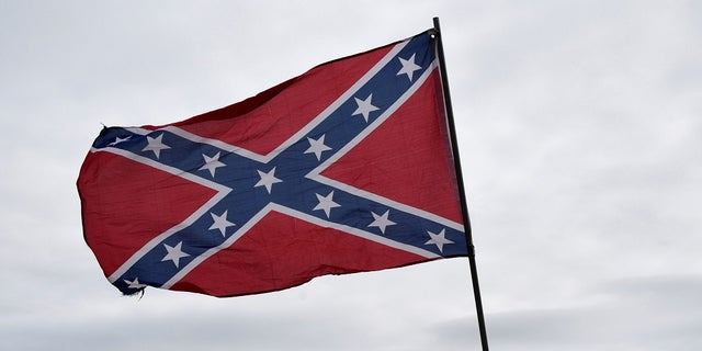 A man asked a barbershop in Oklahoma City, Okla. this weekend to cut a Confederate flag in his hair.