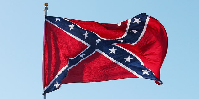 """The """"Southern Cross"""" Confederate flag replaced the original design, which caused confusion on the battle field because of similarities to the Union flag"""