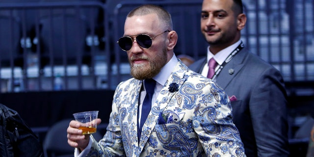 McGregor made it a point to introduce his upcoming Notorious Irish Whiskey during a post-fight press conference following his match against Floyd Mayweather.