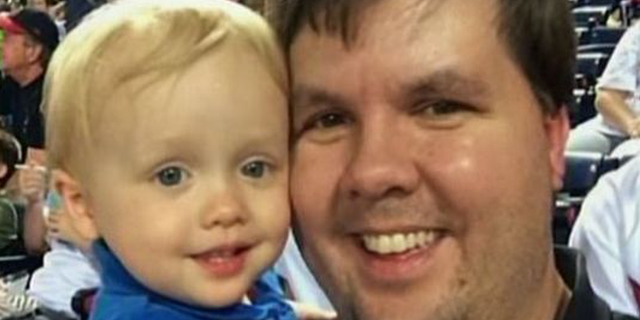 Ross Harris with his son, Cooper.