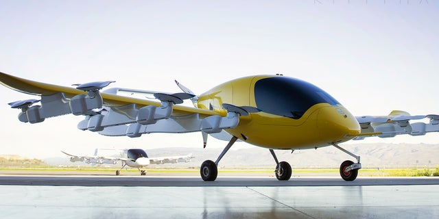 Kitty Hawk received funding from the Pentagon for its work on flying taxis.
