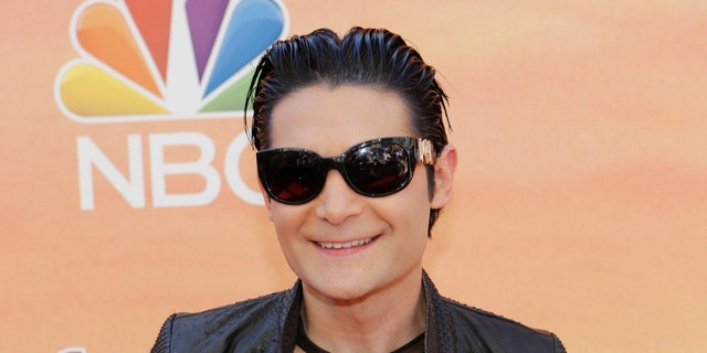 Actor Corey Feldman arrives at the iHeartRadio Music Awards in Los Angeles, California May 1, 2014.   REUTERS/Mario Anzuoni (UNITED STATES  - Tags: ENTERTAINMENT)  (iheartradio-ARRIVALS) - RTR3NGSJ