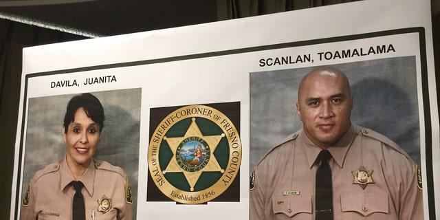 Fresno County Correctional Officers Juanita Davila and Toamalama Scanlan.