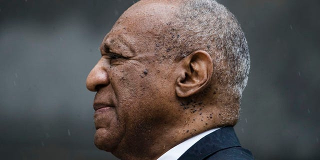 Bill Cosby exits the Montgomery County Courthouse after a mistrial in his sexual assault case in Norristown, Pa., Saturday, June 17, 2017. Cosby's trial ended without a verdict after jurors failed to reach a unanimous decision. (AP Photo/Matt Rourke)