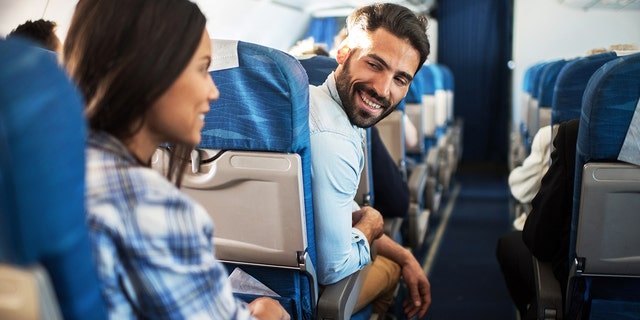 A seat chat feature on some airplanes is like an unofficial in-flight dating app