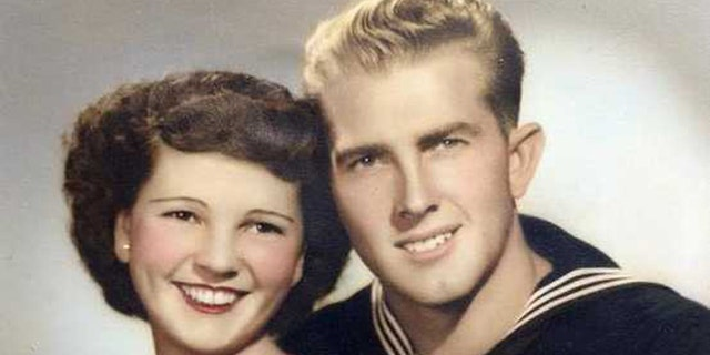 Floyd and Violet Hartwig's long love story came to a peaceful end earlier this month. (Courtesy Donna Scharton)