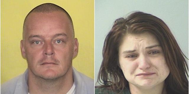 Jason Fletcher, 40, and Ciera Richter, 25.