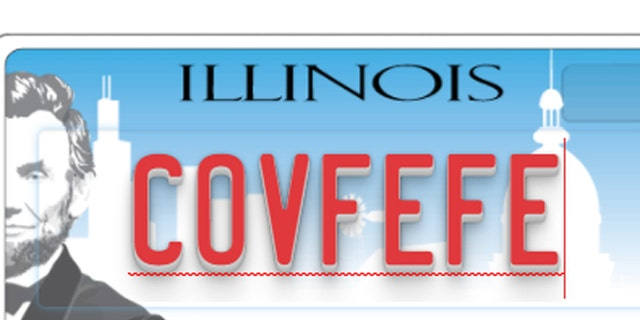 """Nearly 21 states had orders for """"covfefe"""" vanity license plates. Georgia is not one of them."""