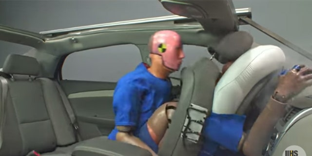 Federal researchers use only male crash-test dummies, and carmakers face no legal requirement to use both male and female dummies, a Democrat's office said.