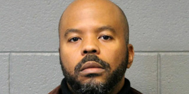 Carlyle Calhoun, a 10-ear veteran with the Chicago Police Department, was charged with sexually assaulting a male suspect in his custody.