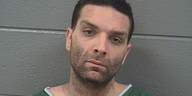 David. M. Ferguson, who authorities say set a fire on a Chicago subway train in January.
