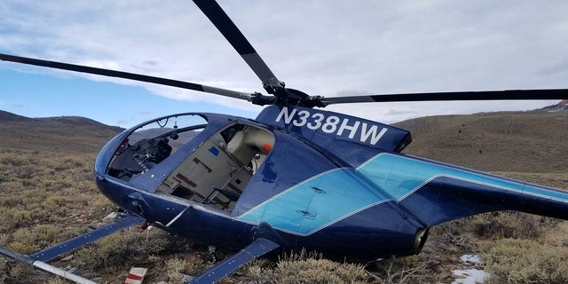 FILE Feb. 12, 2018: A research helicopter was brought down by a leaping elk in the mountains of eastern Utah.