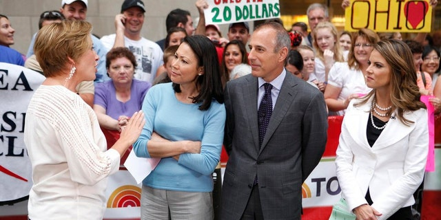 """During Ann Curry's year-long stint on """"Today,"""" Matt Lauer reportedly told a colleague, """"I can't believe I am sitting next to this woman."""""""