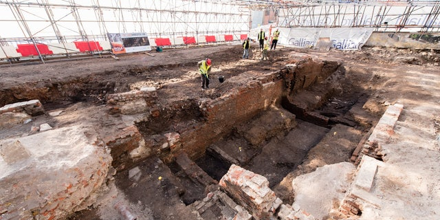 The newly excavated Curtain Theatre may be one of the earliest purpose-built theaters built in London.