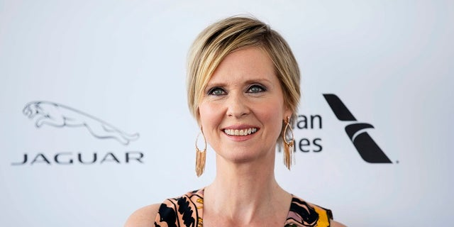 """""""Sex and the City"""" star Cynthia Nixon has been linked to reports that she will run for governor of New York in next year's primaries."""