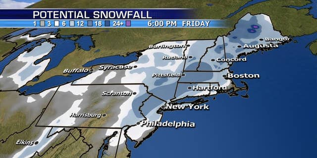 Second Nor'easter strikes the Northeast in less than a week