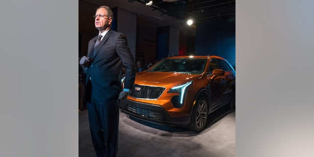 Johan de Nysschen introduced the XT4 in New York in March.