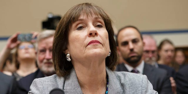 Former IRS official Lois Lerner on Capitol Hill in May 2013 during hearings looking into whether agents improperly scrutinized applications for tax-exempt status by tea party and other conservative groups.