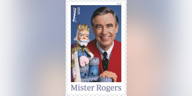 The Mister Rogers Forever stamp was released on Friday.