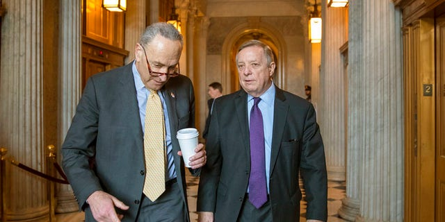 Sen. Chuck Schumer, D-NY, has accused Trump of trying to spike an immigration deal.