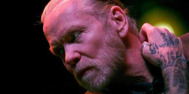 November 22, 2010. Musician Gregg Allman of The Allman Brothers Band attends a news conference to announce a concert run by his band at New York's Beacon Theatre.