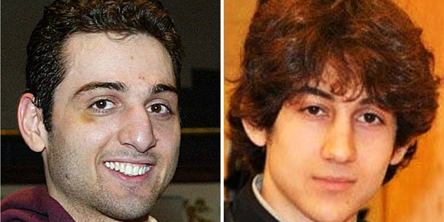 Tamerlan Tsarnaev, 26, left, and Dzhokhar Tsarnaev, 19, carried out the oston Marathon bombings, though at trial, Dzhokhar claimed his older brother was mainly responsible. (AP)