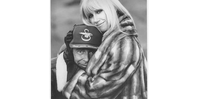 Suzanne Somers with her husband Alan Hamel.